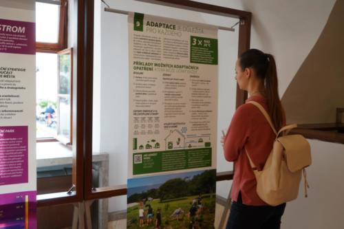 Putovní klimatická výstava v brněnském Urban centru