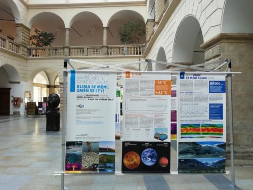 Putovní klimatická výstava v Hranicích na Moravě